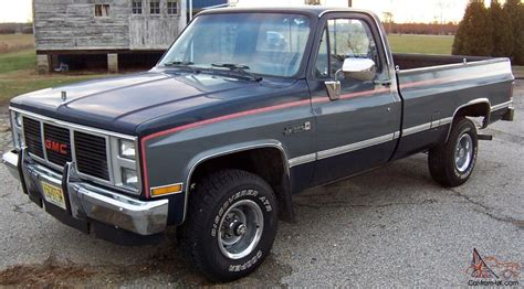 1987 Gmc Sierra 4x4 For Sale