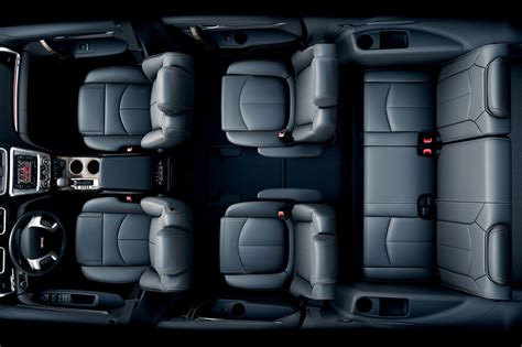 Gmc Acadia Seating Configurations