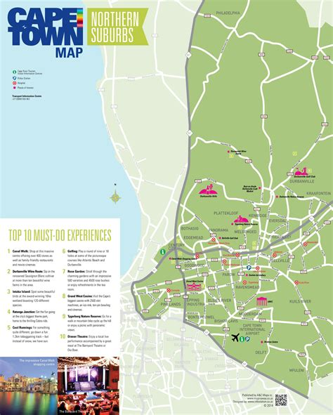 Map Northern Suburbs