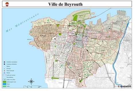 Map Of Beiruit