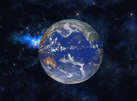 Wallpaper 3D Earth Animation