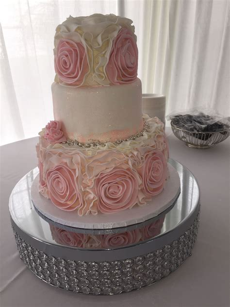 how to make fondant roses for wedding cake